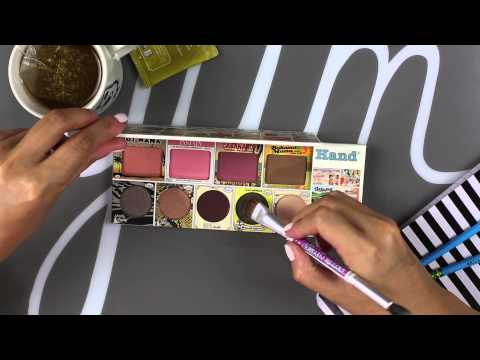"All-in-one Face Palette: ""In theBalm of Your Hand"""