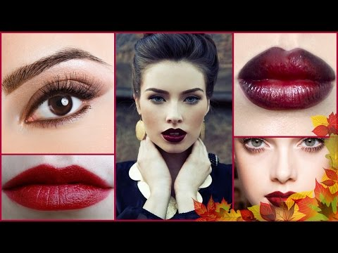 DUNKLE LIPPEN | Autumn Make-Up + Favoriten | Neutrale Augen