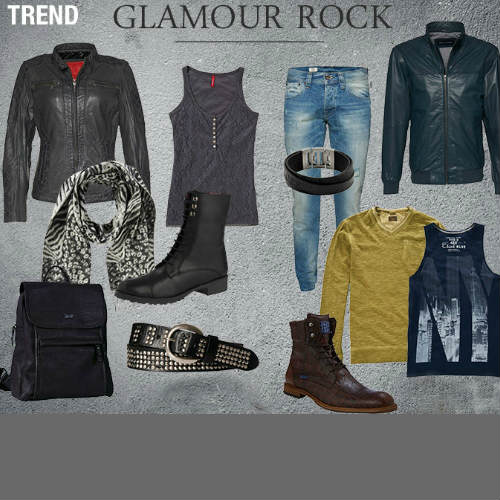 Trend Style Glamour Rock