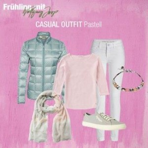 Trend Casual Outfit Pastell