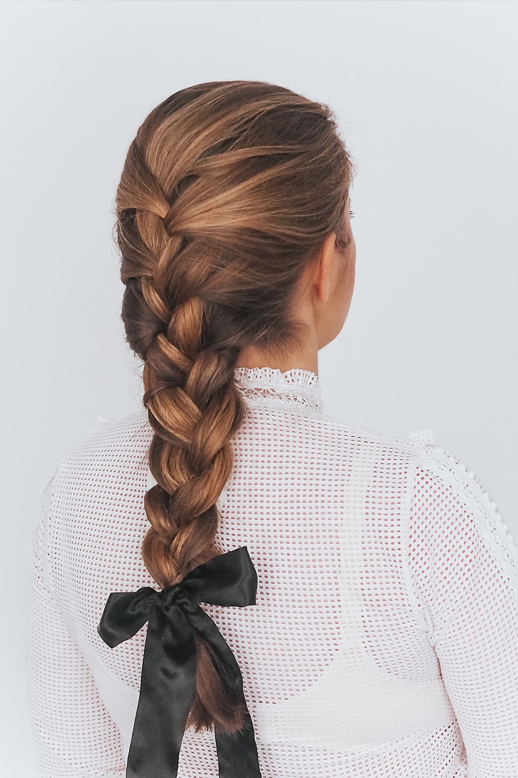 1. Valentinstagsfrisur: Romantic French Braid