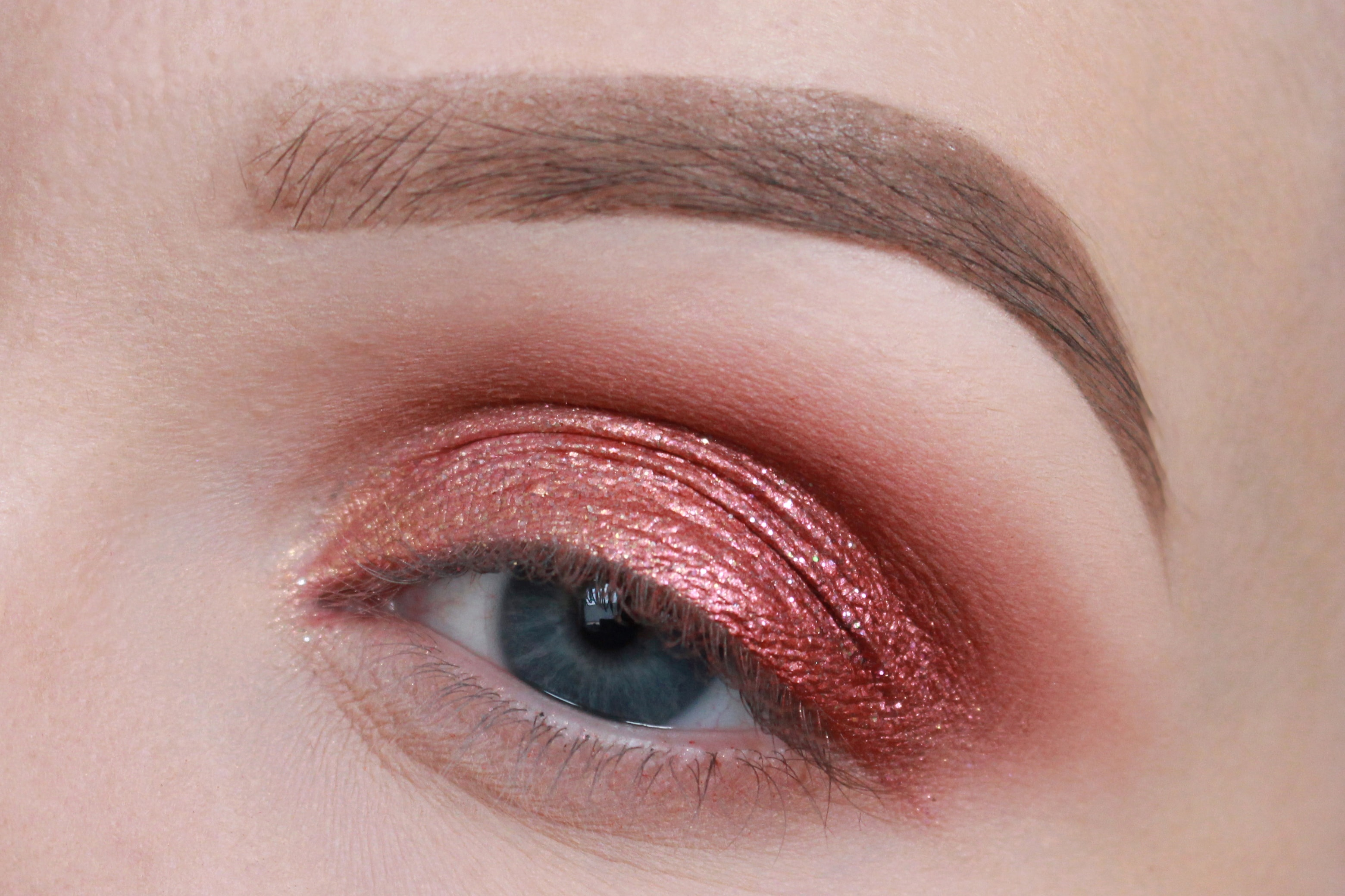 Metallic Augen-Make-up