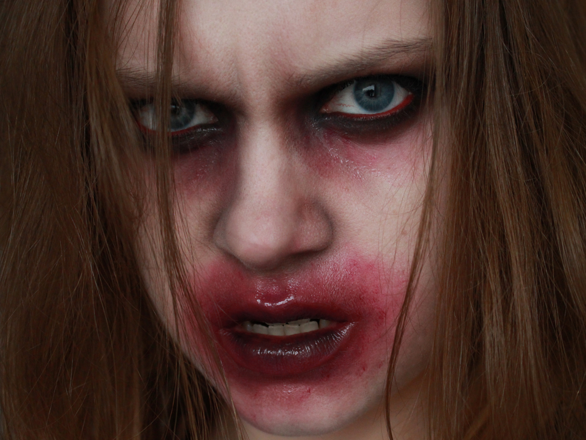 Zombie-Make-up-Anleitung
