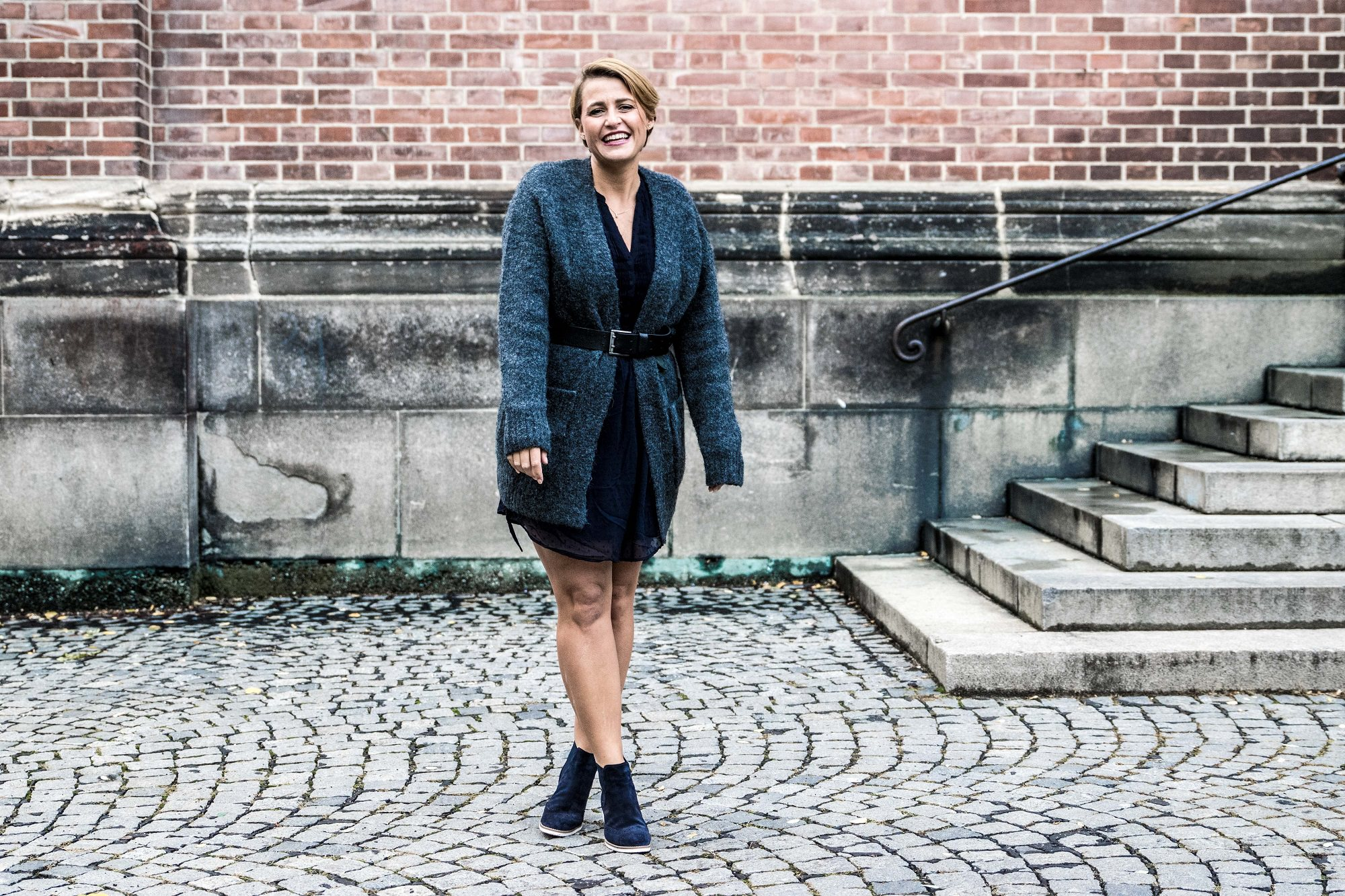 Trendfarbe Navy Outfit Look Kaufhof