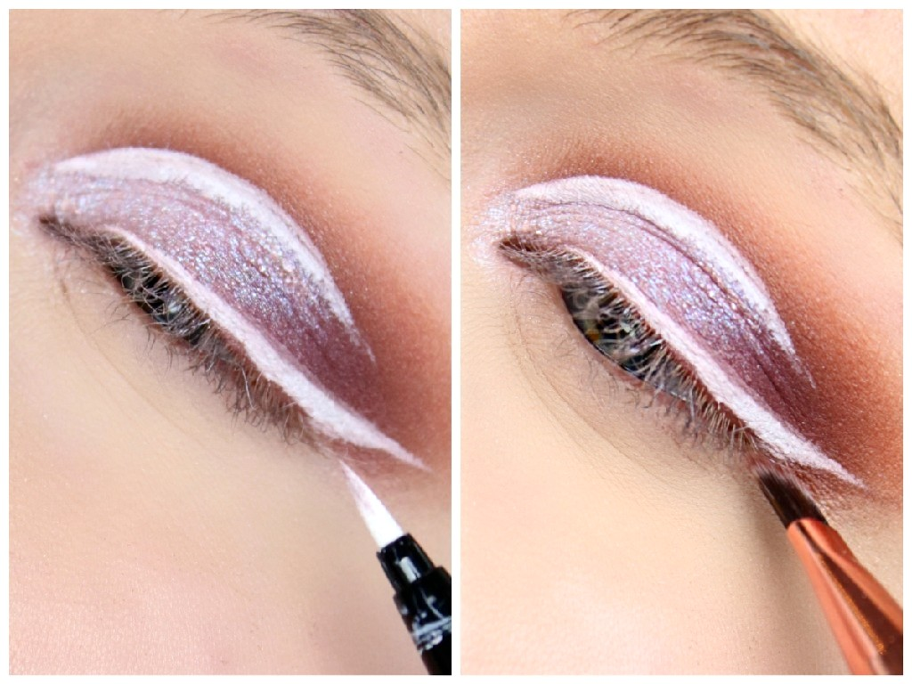 Holographic-Cut-Crease - Step 5 Eyeliner