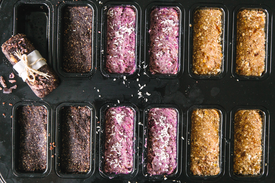 Raw Bars – gesunde Power-Snacks
