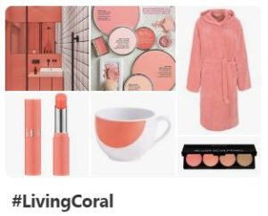 Pinterest #LivingCoral