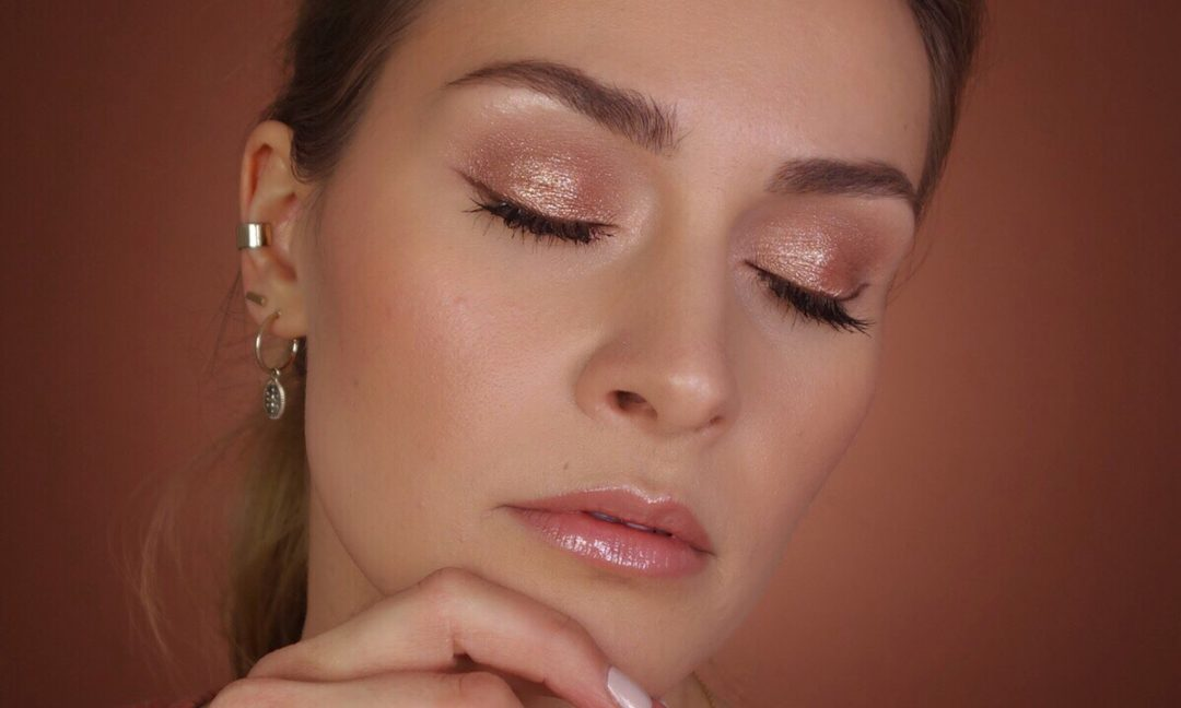Glossy Augenmake-up Anleitung